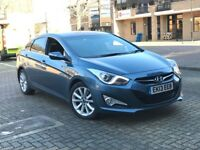 2013 HYUNDAI I40 1.7 DIESEL AUTOMATIC CRDI 136 STYLE SALOON EXCELLENT DRIVE SAT NAV CAN USE UBER PCO