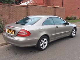 Mercedes-Benz CLK 270 CDi Coupe Diesel Auto, Can Be DELIVERED