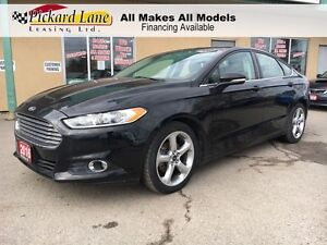 2016 Ford Fusion $105.40 BI WEEKLY! $0 DOWN! CERTIFIED! 2015 & 2