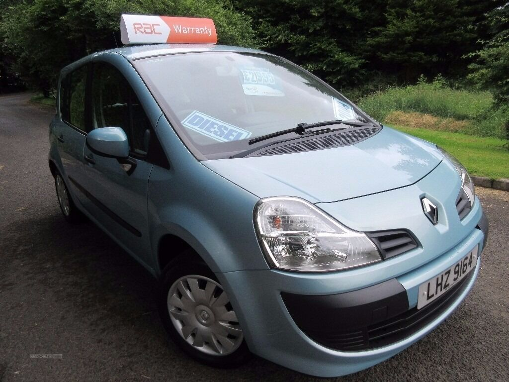 TERRY COULTER CARS 2009 Renault Modus EXPRESSION 1.5 DCI 5DR *LOW ROAD TAX*  64000