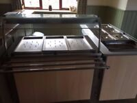 Complete hot top carvery unit - Moffat - Excellent condition