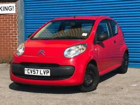 2007 Citroen C1 Vibe 1.0 Petrol Manual Full Service History Cheap First Car