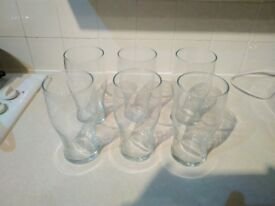Set of one pint glass