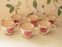 Emma Bridgewater McCarthy Rose Cups * 3 AVAILABLE*