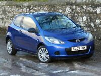 DIESEL MAZDA 2 1.4D TS2. £20 ROAD TAX. MOT TO OCTOBER. EXTREMELY ECONOMICAL.
