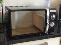 Microwave Russell and Hobbs £40 (RRP £60)