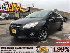 2013 Ford Focus SE LEATHER SUN ROOF BLACK MAGS KEYLESS ENTRY