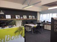 2 x desks for rent in small friendly creative studio