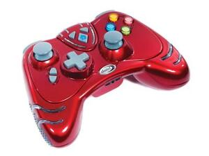 Xbox 360 Wireless Controller - Limited Edition, Ruby Red Colour