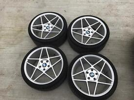 """19"""" Staggered BMW alloys"""