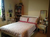 Double room in two bed huge upmarket flat 4 mins walk to Tube