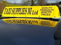 New Regulation Traditional Style DOE Approved Taxi Roof Sign, LED Lighting £120 No VAT
