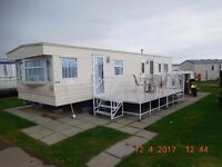Luxury Caravan To Rent Hire Kingfisher, Ingoldmells Skegness, Fully Refurbished 6 - 8 Berth