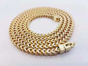 chaine en or 10 karat diamond cut italien / franco chain in gold 10 karat diamond cut