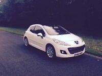 Peugeot 207,2012,1.6hdi £30 a year tax