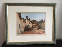 FRAMED PICTURE 'Rose Terrace' 390mm x 320mm