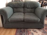 Comfy two-seater sofa
