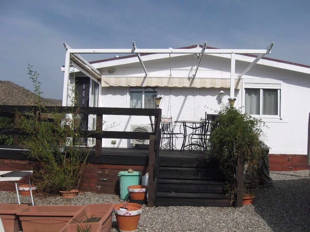 3 Bedroom Park Home Nr Malaga Spain10x75 Meter 60000