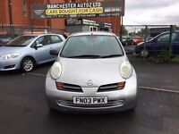 Nissan Micra 1.2 16v S 5dr,automatic, LOW MILEAGE,