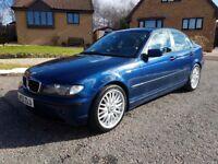 BMW 3 series .. E46 facelift .. 320d diesel .. 6 speed manual ..