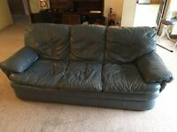 Free Leather Sofas and footstall