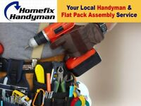 Flat Pack Furniture Assembly & Handyman Service - Let us build your flatpack Ikea Argos Wayfair etc