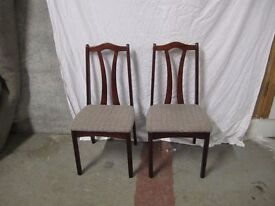 2 Dining chairs 6/2/17 Sold Seperate