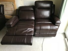 Sofa for Sale - 2 and 1 seater recliner electric