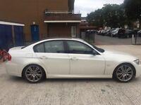 PEARL WHITE BMW 330i M3 SPORT AUTO £3000