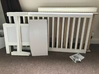 Mothercare sanctuary cot bed