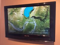 """Akura 26"""" LCD TV/DVD Combi excellent condition, remote and wall bracket - NO STAND"""