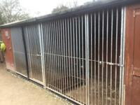 Dog kennel and run X 2 for sale
