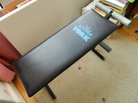 York Weights Bench in Excellent Condition