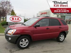 2007 Kia Sportage LX-Convenience /WITH NEW TIRES INCLUDED!