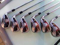 Nike vrs set golf clubs talyorlmade 3 wood stand bag wedges