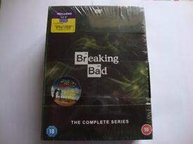 Breaking Bad The Complete Series DVD New/Sealed
