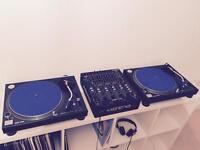 Technics SL-1210M3D DJ Turntables - Pristine, one owner from new!