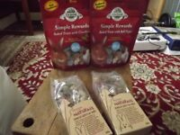 4 packets of small animal treats - all in date - £5 the lot (rabbits, guinea pigs etc)