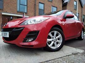 Mazda 3 1.6 D TS2 Hatchback 5dr diesel 6 speed manual FSH 2010 2 KEYS CALL 07534101444 £3100 cheap!