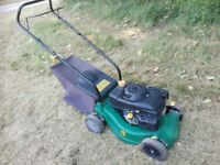 Petrol Lawnmower Lightweight and Compact Serviced