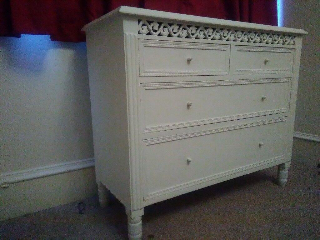 Storage white decor chest drawers ono