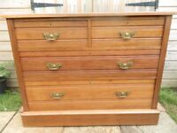 Ash Wood Chest of Drawers