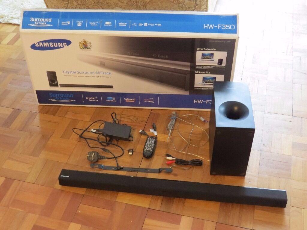 Samsung Crystal Surround Air Track Sound Bar