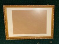 Large A1 Gold Embossed Frame for pictures or artwork