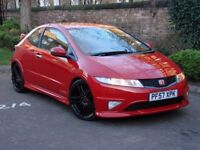 AA WARRANTY!!! 57 REG HONDA CIVIC TYPE R 2.0i VTEC GT, 6 SPEED, FROM ONLY £120pm WITH 0% DEPOSIT