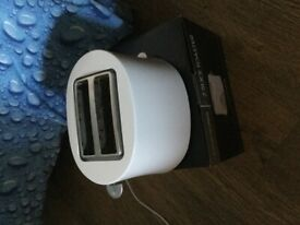 2 SLICE TOASTER EX COND.£2.QUICK SALE.PHONE ONLY.