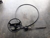 Steering Wheel and Cable