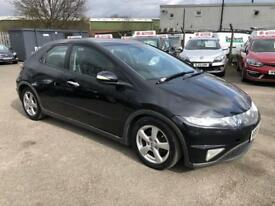 HONDA CIVIC 2.2 I-CTDI 5 DOOR SUNROOF 6 SPEED /12 MONTH MOT /3 KEEPERS