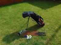 Junior Golf Clubs with Caddy
