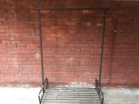 Heavy Duty Clothes rail with shoes rack